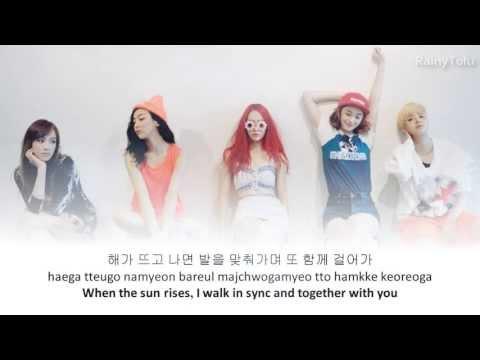 f(x) - 미행 (그림자; Shadow) ~ lyrics on screen (KOR/ROM/ENG)