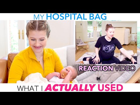 What I actually Used in my HOSPITAL BAG!