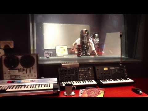 Paty Cantu-L.A. Grabacion 3er. disco (1a.parte)