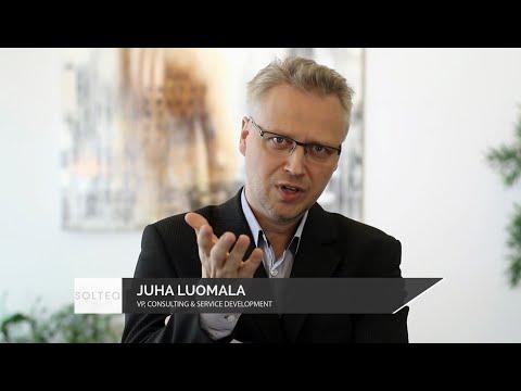 Kuka johtaa digitaalista transformaatiota? Vain 33 % yrityksillä on tehokas digistrategia. Juha Luomala toteaa, että asiakaskokemus on noussut johtamisen kulmakiveksi ja sitä pitää johtaa ihan uudella tavalla.