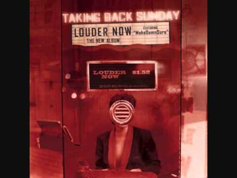 Taking Back Sunday - Make Damn Sure (w/ lyrics)