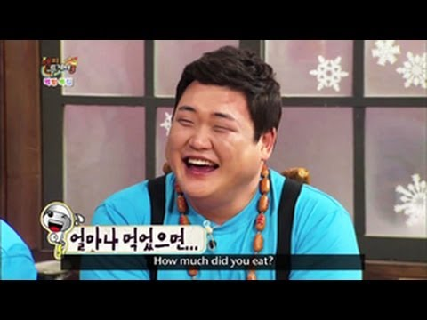 Happy Together - Late Night Cafeteria with Kim Junhyun, Kim Sinyoung, Heo Gak & more! (2013. 05. 15)
