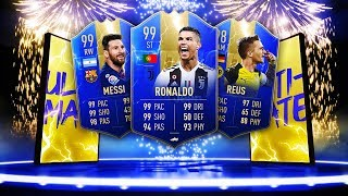 THE ULTIMATE TOTS IS HERE! + 93 FLASHBACK MAHREZ! - FIFA 19 Ultimate Team