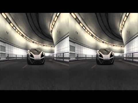 Trackmania : JAST 3D a simple Trackmania 3D video