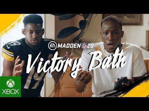 Madden NFL 20   Victory Bath ft. JuJu Smith-Schuster