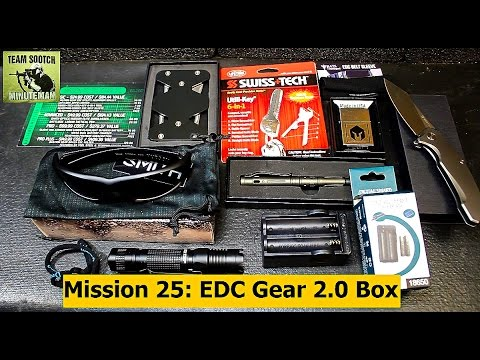 Battlbox Mission 25 EDC Gear 2 0 Test and Review