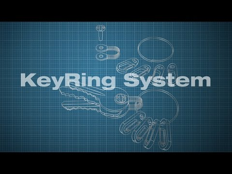 True Utility KeyRing System - LIMITED STOCK