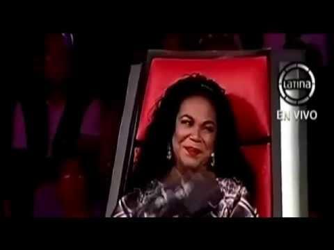 Eva Ayllón canta Sincera Confesión en La Voz Perú
