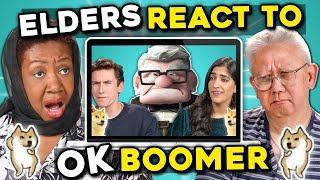 Boomers React To OK Boomer Memes