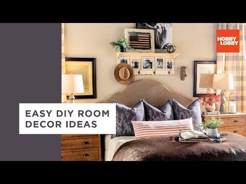 Easy DIY Room Decor Ideas – Industrial & Traditional | Hobby Lobby®