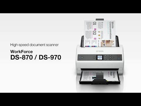 Epson WorkForce DS-870 and DS-970 Document Scanners
