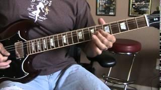 What Do You Do for Money Honey - AC/DC (Guitar Cover)