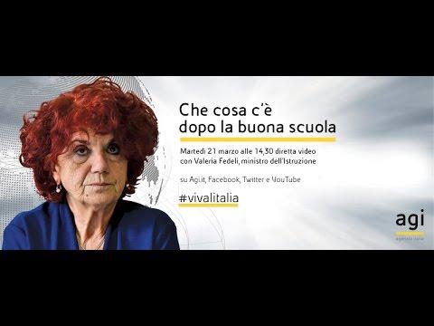 #vivalitalia con Valeria Fedeli