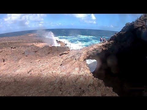Trace des douaniers - Porte d'enfer vers pointe du soufleur - Anse-Bertrand - Guadeloupe
