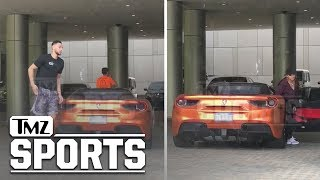 Ben Simmons Hops Out the Ferrari with Tinashe   TMZ Sports