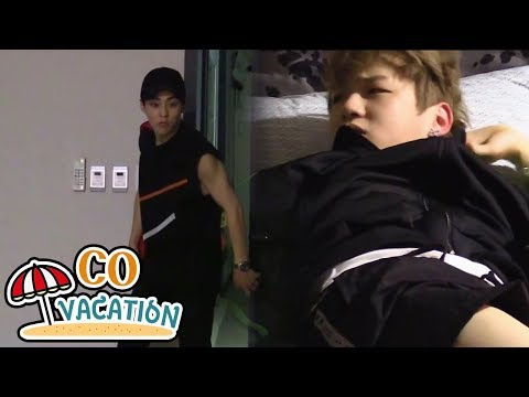[Co-Vacation: Xiumin & Daniel] Xiumin Sneaks Into The Room Not To Wake Up Daniel 20170904