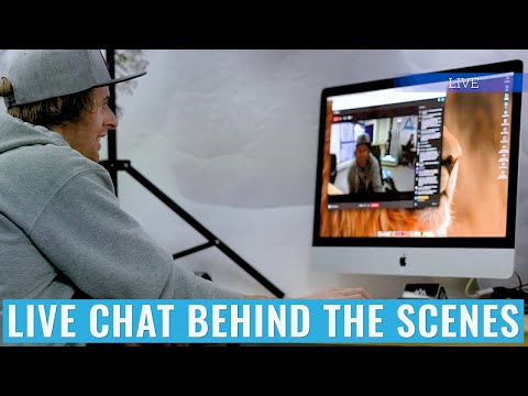 Live Chat Behind The Scenes