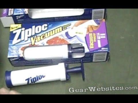Ziploc Vacuum Pump Youtube