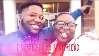 VLOG: Driving two hours to surprise my bestfriend for his birthday!