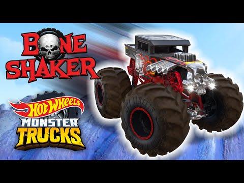 @Hot Wheels    The Best of BONE SHAKER! ☠️   Monster Trucks
