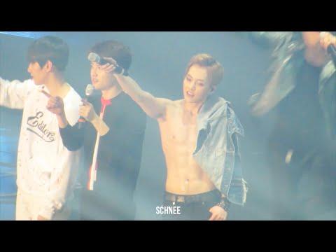 160318 THE EXO'luXion dot 복근 댄스브레이크 + 복근 공연 XIUMIN 시우민.