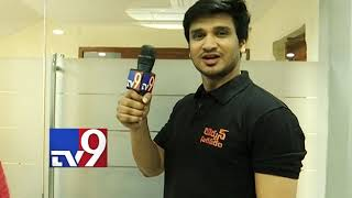Hero Nikhil turns reporter for TV9 Telugu- Promo..