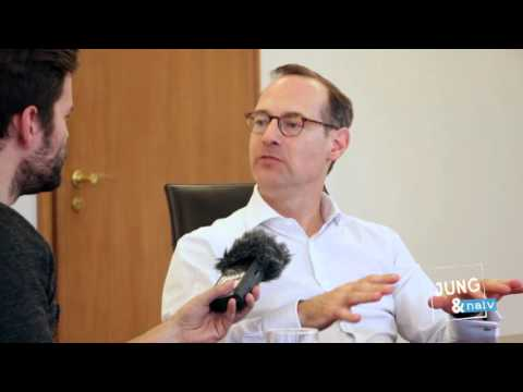 Allianz | When I get really angry | Oliver Bäte in interview with Jung & Naiv