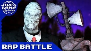 Siren Head Vs. Slender Man - Video Game Rap Battle