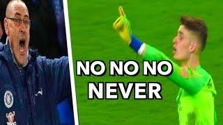 Football Players Refusing to Leave the Field (Kepa, Cristiano Ronaldo, Neymar ...)