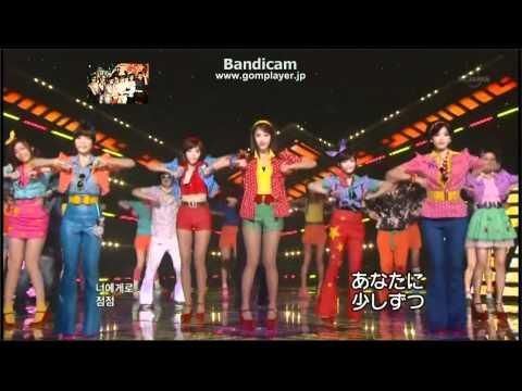 T-ara Roly-Poly  最強LIVE!! (メンバー名前字幕あり)