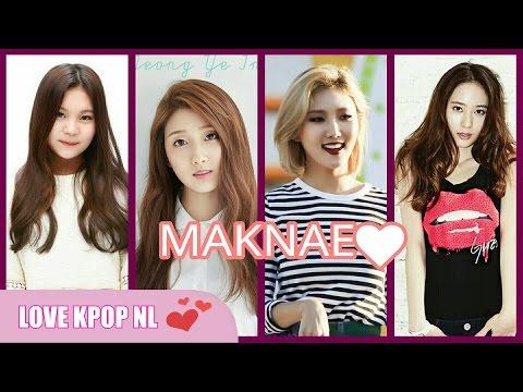 Maknae in KPOP Girl groups