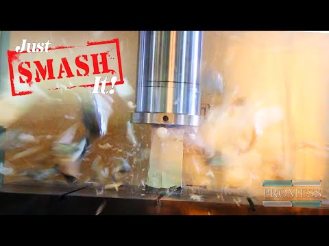 Just SMASH It! Episode 2 - Blowing Up a Bowling Ball