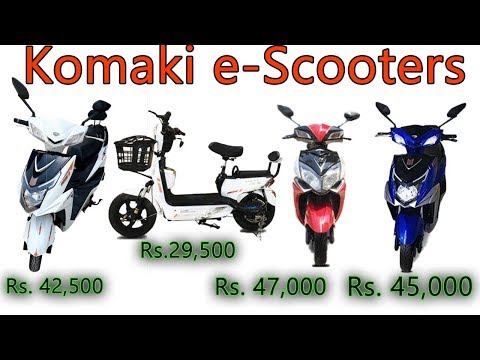 Komaki Electric Scooters | Delhi Based Electric Vehicles Manufacturers Company