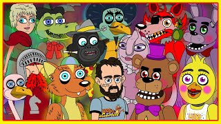 Five Nights at Freddy's vs Willy's Wonderland (Parody Animation)