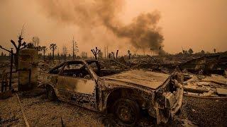 ASI ESTA CALIFORNIA POR LOS INCENDIOS FORESTALES IMÁGENES IMPACTANTES