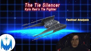 Kylo Ren's Fighter - Tie Silencer Tactical Analysis