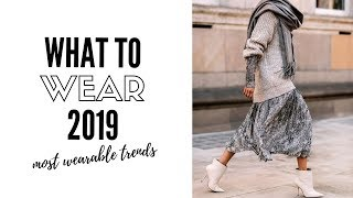 Top Wearable Fashion Trends 2019 - How To Style - YouTube