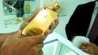 Das 24K GOLD IPHONE X in DUBAI $6400