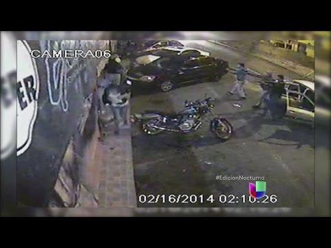 Impactantes imágenes de ataque a un bar en México