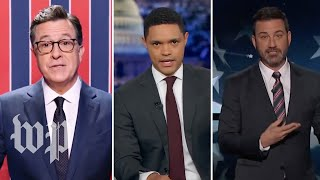 Late-night laughs: The midterm election