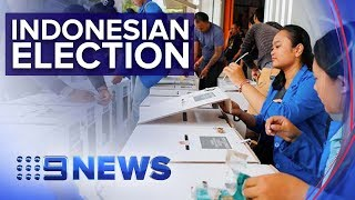 Pre-marked ballots mar Indonesia's elections | Nine News Australia