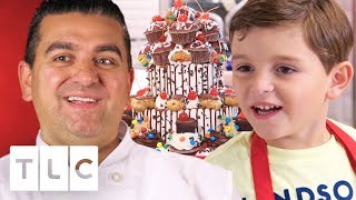 Carlo Helps Buddy Make An Amazing Birthday Cake! | Cake Boss