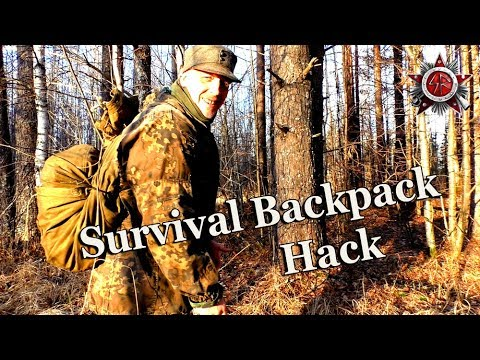 How To Make A Survival Backpack That Actually Works 2018