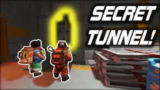 We Found a SECRET TUNNEL Hidden in the Warehouse Walls! (Scrap Mechanic Co-op Survival Ep.29)