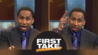 Stephen A. goes off reacting to Canelo temporary suspension for drug test | First Take | ESPN