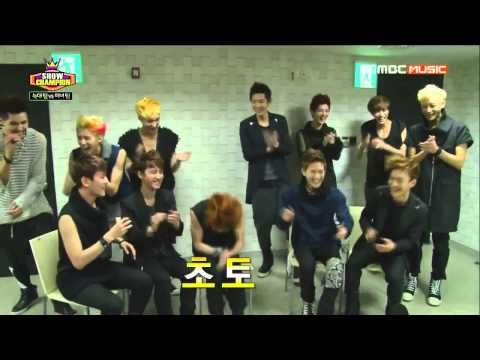 [HARD ENG SUB] 130612 Show Champion EXO Wolf VS Beauty Interview