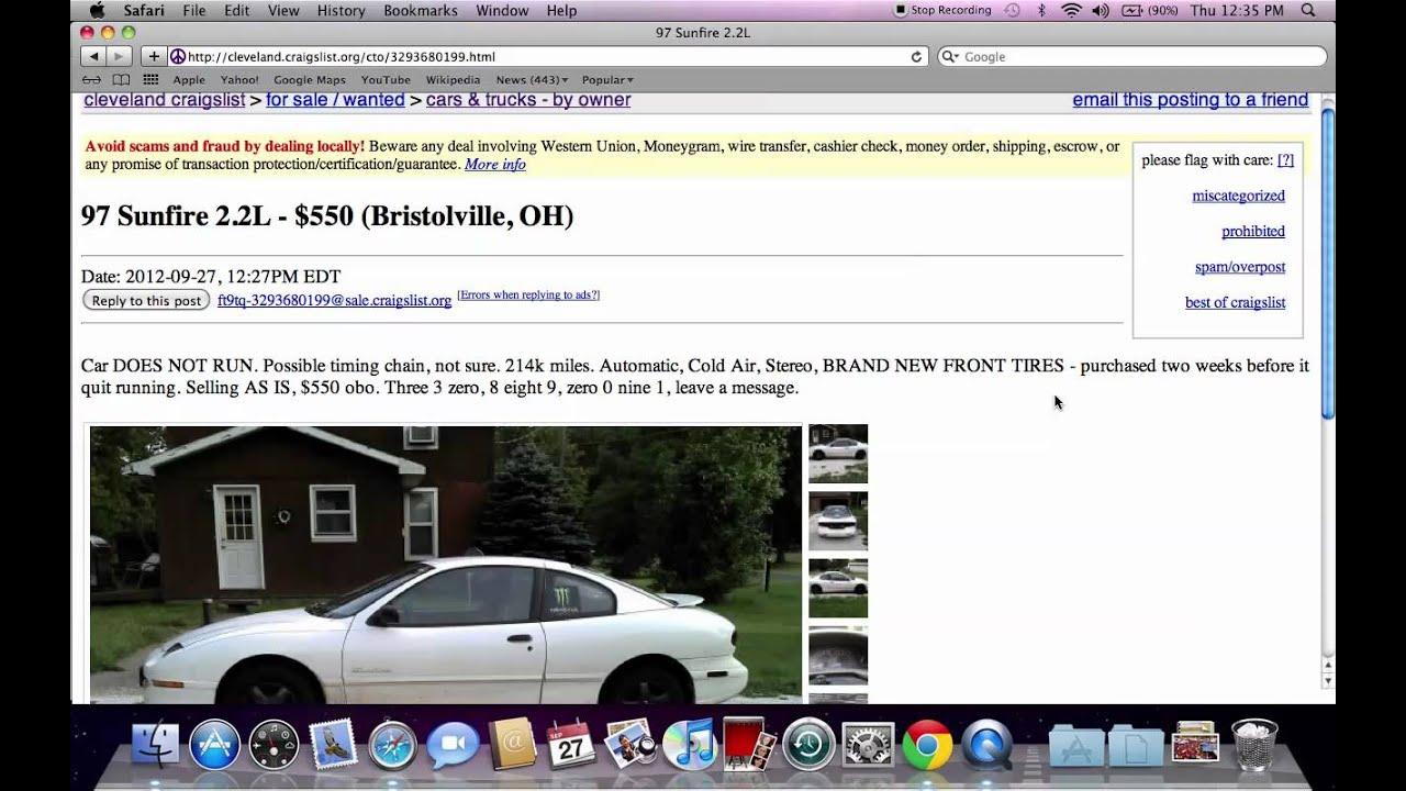 Craigslist Cleveland Ohio Used Cars And Trucks