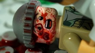 Lego Walking Dead Sasha Death Season 7 Finale