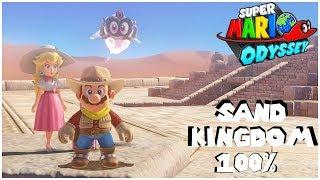 Super Mario Odyssey Sand Kingdom 100%