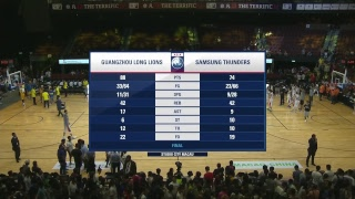 The Terrific 12 Day 4 Game 2 Guangzhou Long Lions vs Seoul Samsung Thunders
